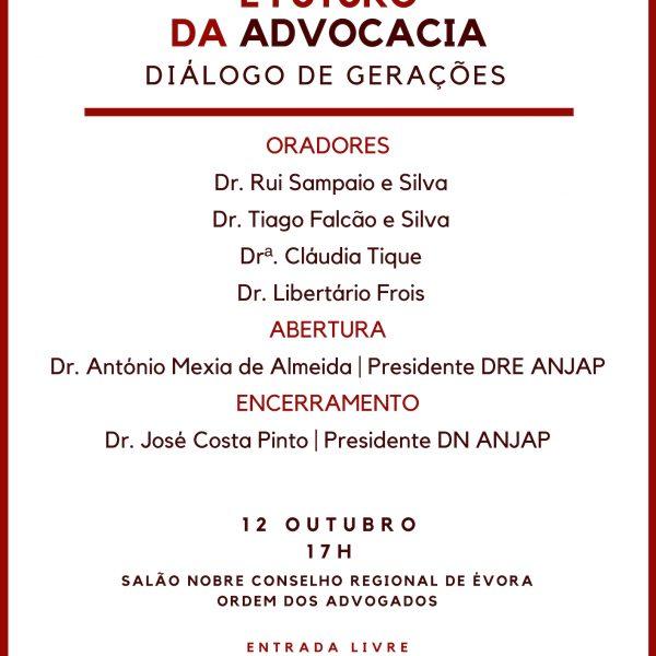 PASSADO, PRESENTE E FUTURO DA ADVOCACIA – DIÁLOGO DE GERAÇÕES