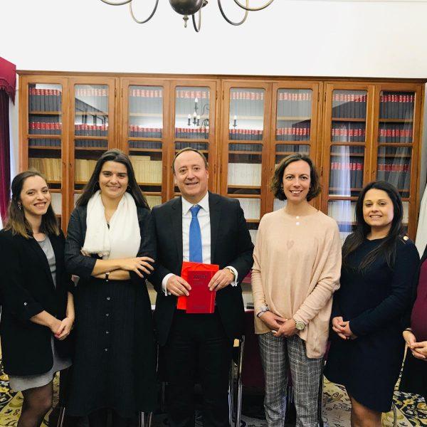 Apresentação de cumprimentos Direção Regional de Évora