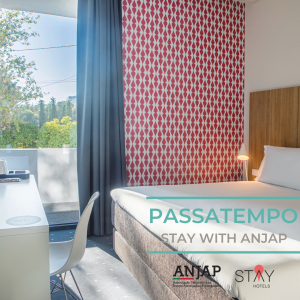 ANJAP x Stay Hotels | Passatempo Stay with ANJAP Regulamento